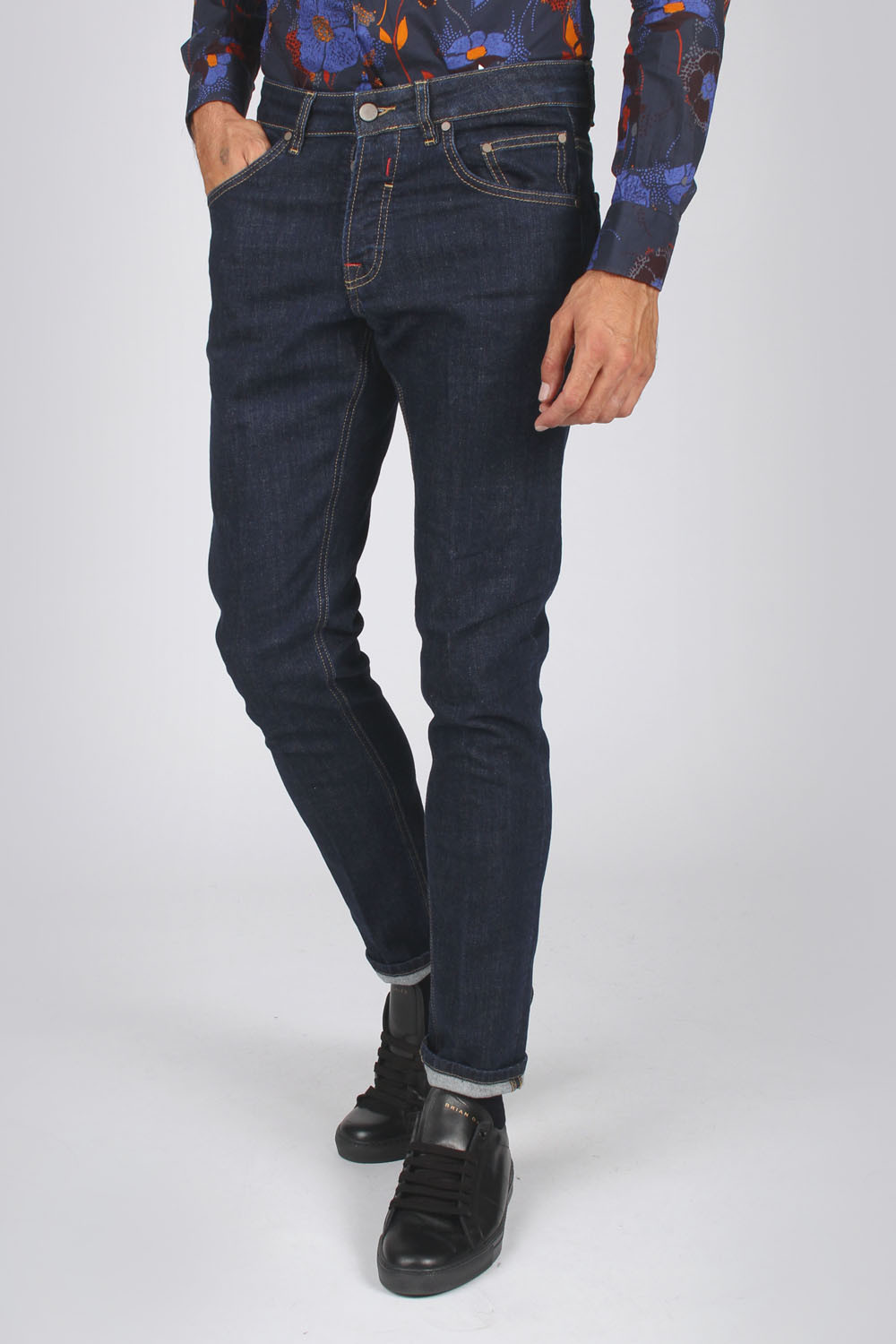 Denim stretch dark blue